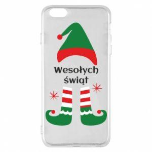 Phone case for iPhone 6 Plus/6S Plus Happy Holidays Elf