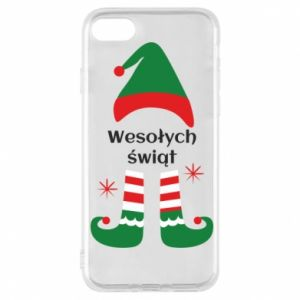 Phone case for iPhone 7 Happy Holidays Elf