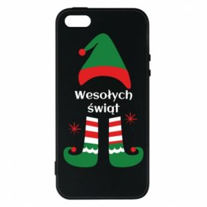Phone case for iPhone 5/5S/SE Happy Holidays Elf