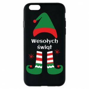 Phone case for iPhone 6/6S Happy Holidays Elf