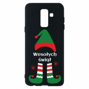 Phone case for Samsung A6+ 2018 Happy Holidays Elf