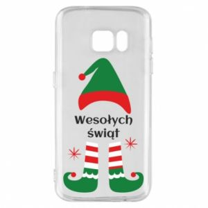 Phone case for Samsung S7 Happy Holidays Elf