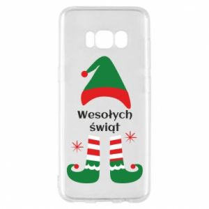 Phone case for Samsung S8 Happy Holidays Elf