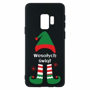 Phone case for Samsung S9 Happy Holidays Elf