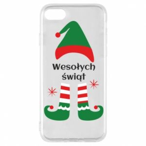Phone case for iPhone 8 Happy Holidays Elf
