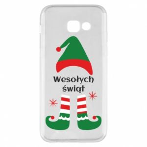 Phone case for Samsung A5 2017 Happy Holidays Elf