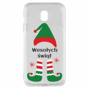 Phone case for Samsung J3 2017 Happy Holidays Elf