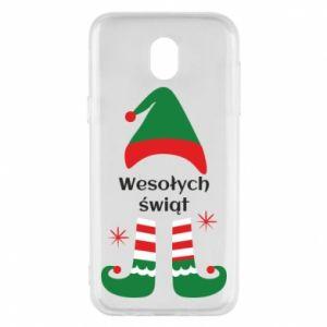 Phone case for Samsung J5 2017 Happy Holidays Elf