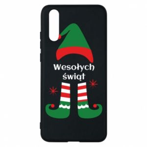 Phone case for Huawei P20 Happy Holidays Elf