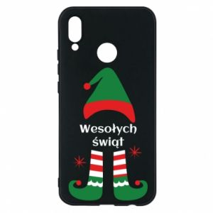 Phone case for Huawei P20 Lite Happy Holidays Elf