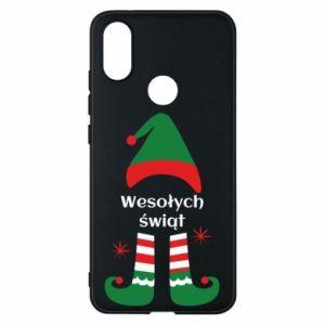 Phone case for Xiaomi Mi A2 Happy Holidays Elf