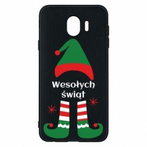 Phone case for Samsung J4 Happy Holidays Elf