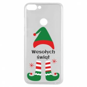 Phone case for Huawei P Smart Happy Holidays Elf