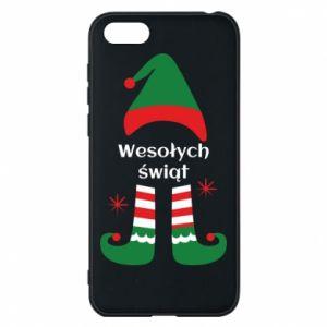 Phone case for Huawei Y5 2018 Happy Holidays Elf