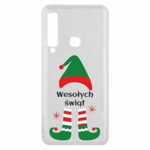 Phone case for Samsung A9 2018 Happy Holidays Elf