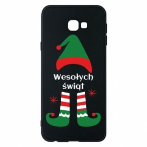 Phone case for Samsung J4 Plus 2018 Happy Holidays Elf
