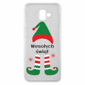 Phone case for Samsung J6 Plus 2018 Happy Holidays Elf