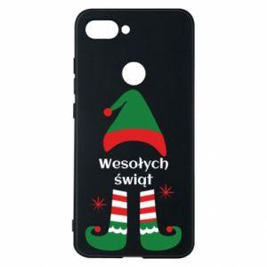 Phone case for Xiaomi Mi8 Lite Happy Holidays Elf
