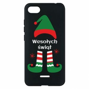 Phone case for Xiaomi Redmi 6A Happy Holidays Elf