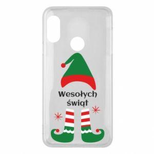 Phone case for Mi A2 Lite Happy Holidays Elf
