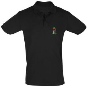 Men's Polo shirt Happy Holidays Elf