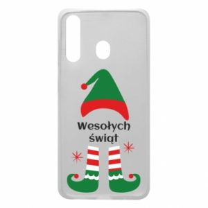 Phone case for Samsung A60 Happy Holidays Elf
