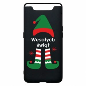 Phone case for Samsung A80 Happy Holidays Elf