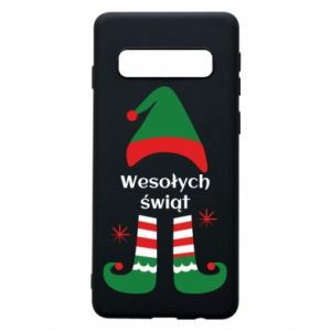 Phone case for Samsung S10 Happy Holidays Elf