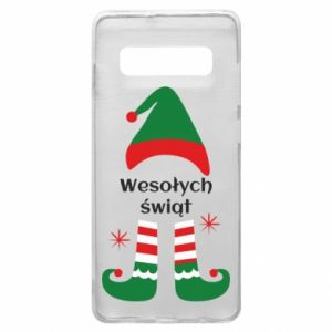 Phone case for Samsung S10+ Happy Holidays Elf