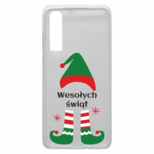 Phone case for Huawei P30 Happy Holidays Elf