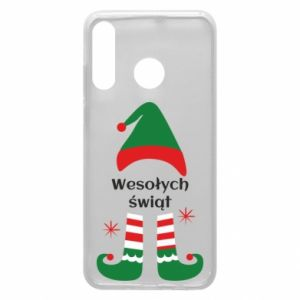 Phone case for Huawei P30 Lite Happy Holidays Elf