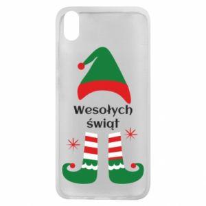 Phone case for Xiaomi Redmi 7A Happy Holidays Elf