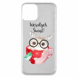 iPhone 11 Case happy holidays deer