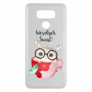 LG G6 Case happy holidays deer
