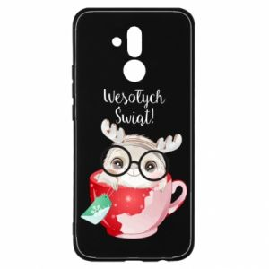 Huawei Mate 20Lite Case happy holidays deer
