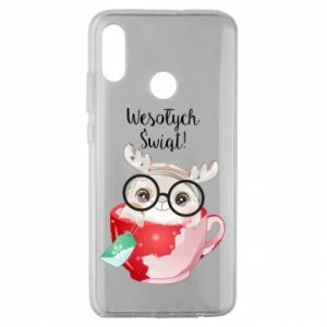 Huawei Honor 10 Lite Case happy holidays deer