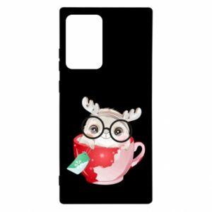 Etui na Samsung Note 20 Ultra Wesołych świąt jeleń