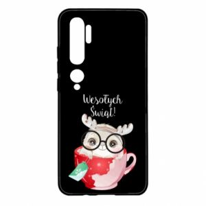 Xiaomi Mi Note 10 Case happy holidays deer