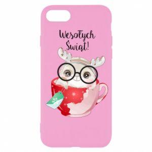 iPhone 7 Case happy holidays deer
