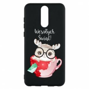 Huawei Mate 10 Lite Case happy holidays deer