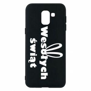 Phone case for Samsung J6 Easter, bunny ears