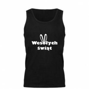Men's t-shirt Easter, bunny ears