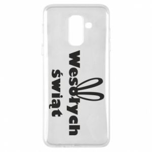 Phone case for Samsung A6+ 2018 Easter, bunny ears