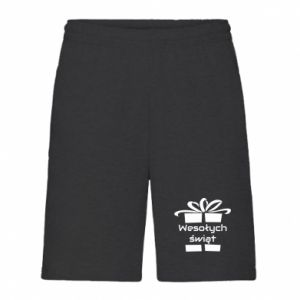 Men's shorts Happy holidays gift