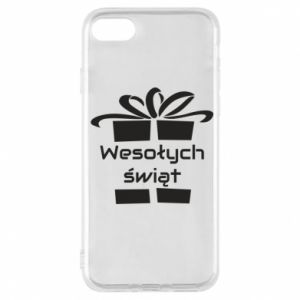 iPhone 7 Case Happy holidays gift