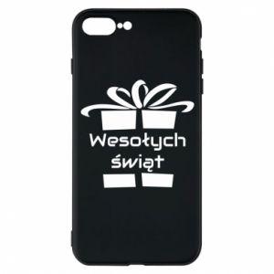 Etui do iPhone 7 Plus Wesołych świąt prezent