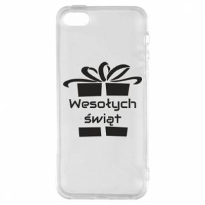 iPhone 5/5S/SE Case Happy holidays gift