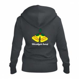 Women's zip up hoodies Merry Christmas... - PrintSalon