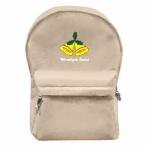 Plecak z przednią kieszenią Wesołych Świąt. Boże Narodzenie