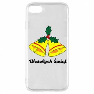 Phone case for iPhone 7 Merry Christmas... - PrintSalon